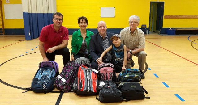 Donations to Lévis-Sauvé School in Verdun